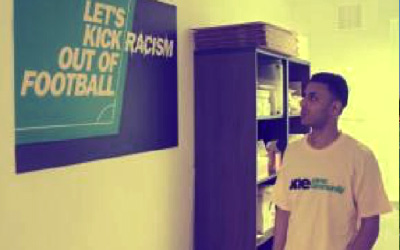 Lets Kick Racism out of Football